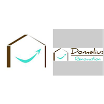 Domelius Renovation logo