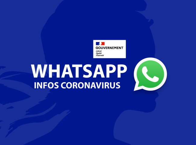Compte officiel WhatApp covid-19